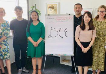 Regierungsdelegation aus Tokyo besucht Berliner Gebäudereinigungsunternehmen Forever Clean