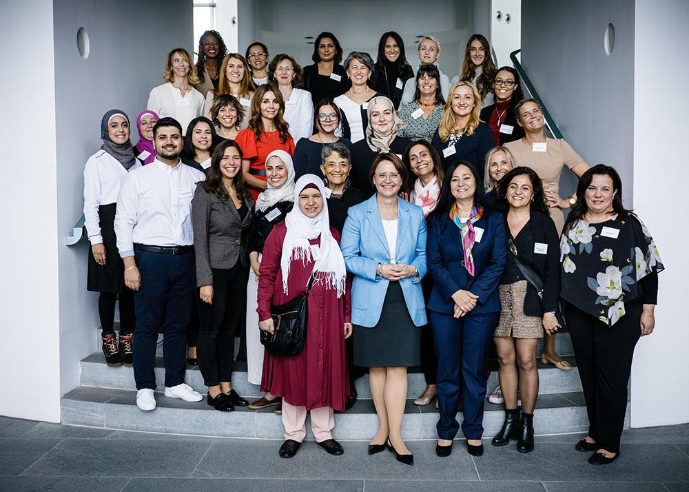 """POLITIK: """"Unternehmerinnen Lunch"""" im BundeskanzleramtBerlin, 20.09.2019"""